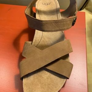 Ugg Tan Suede Sandals